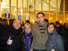 Paula, Miguel, Toña y Aki