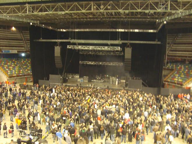 Interior del Coliseum de La Coruña antes del concierto