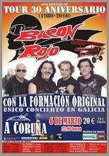 Reunión de la formación original de Barón Rojo (6 de marzo de 2010):