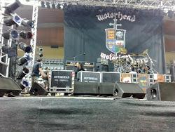 Foto sacada por Javier Gómez Vila (alumno) en el concierto de Motörhead en Vigo