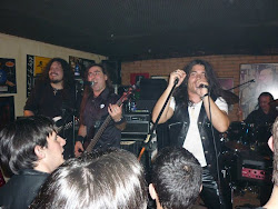 Foto sacada por Javier Gómez Vila (alumno) durante el concierto de Dünedain en el Club Clavicémbalo