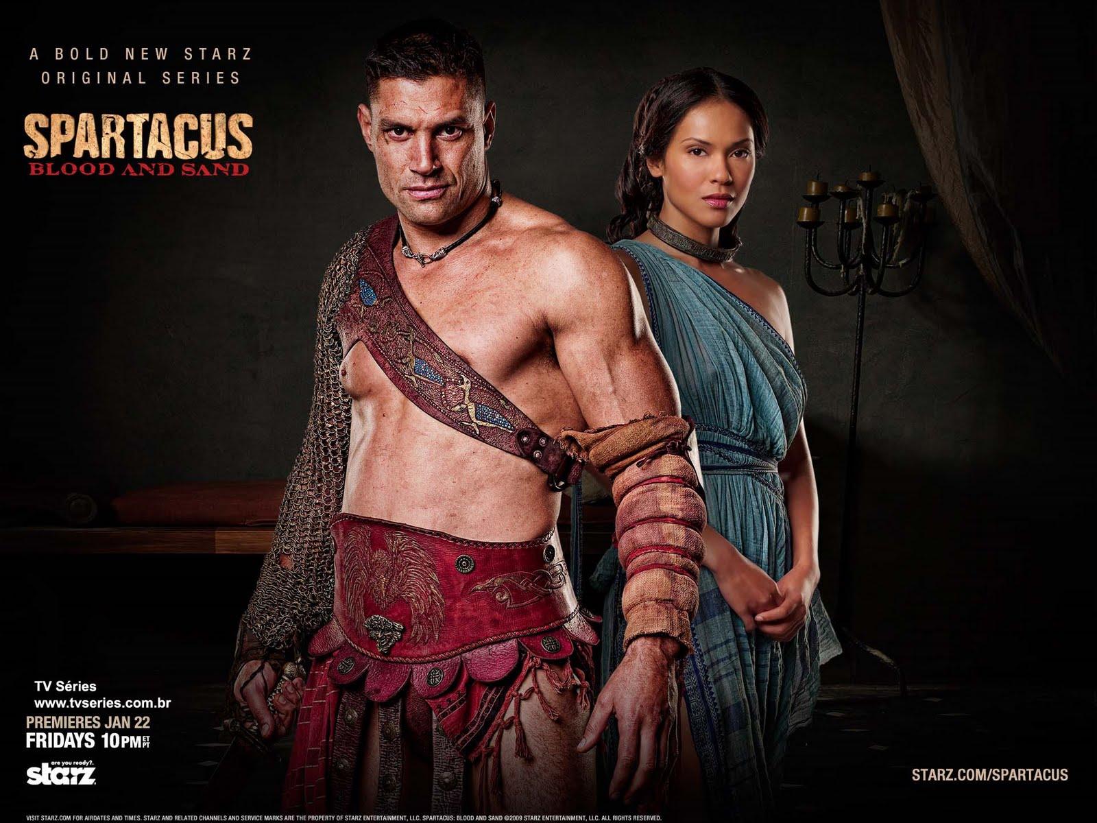 Filme Spartacus pertaining to revista tv séries: opinião - spartacus: blood and sand