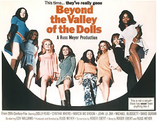 Beyond the Valley of the Dolls - Poster