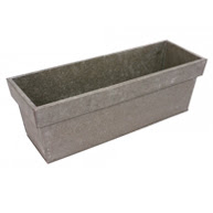 BUY AGED ZINC WINDOW BOX
