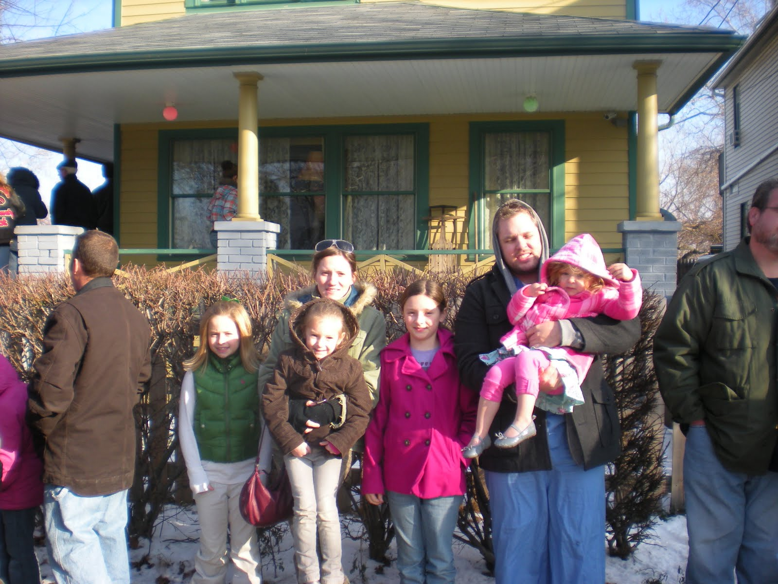 we are huge christmas story fans right down to the two year old so we were all super excited on dads birthday to be able to go through the house where - What Year Did A Christmas Story Take Place