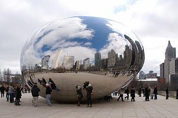 Die Bohne im Millennium-Park in Chicago © Cornelia Schaible