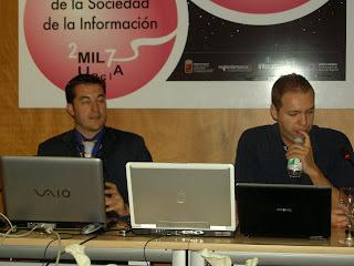 Miguel Angel Morcuende y Sergio M. Mahugo