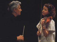Herbert von Karajan & Anne-Sophie Mutter