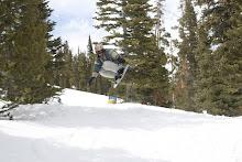 Tanner getting air...