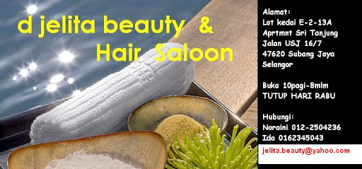 d jelita beauty & hair Saloon
