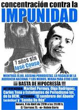 JOSE COUSO : 7 años de impunidad