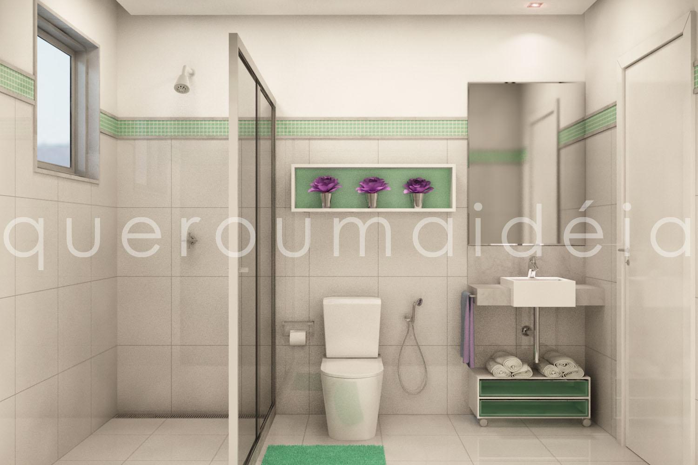 quero uma ideia: Reforma banheiro #753D6B 1500 1000