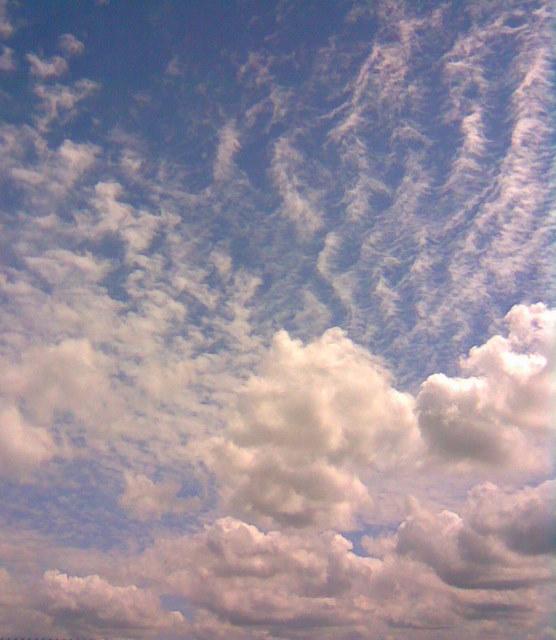 Chmury nade mną