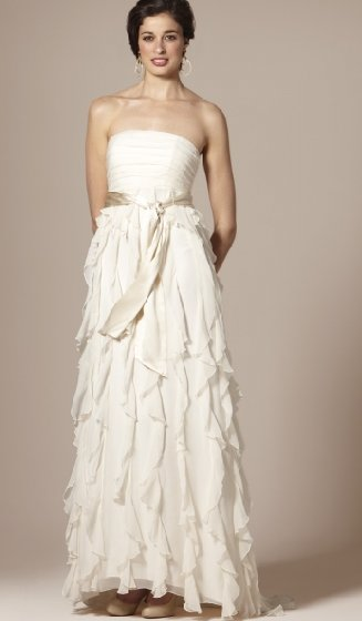 For 298 you can get this beautiful wedding gown from The Limited 39s new
