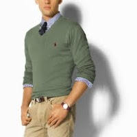 PRL+green+sweater2 Cool Weather Style: The Rumpled Look