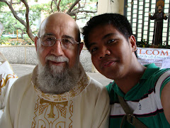 Jose Luis and Me during his Golden Jubilee of Priesthood