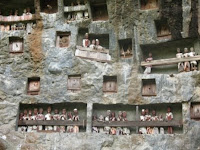 Londa stone tombs in Toraja land