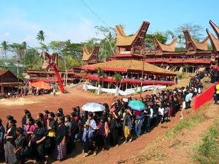 pesta rambu solo' orang toraja