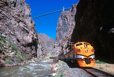 Royal Gorge Bridge pontes assustadoras