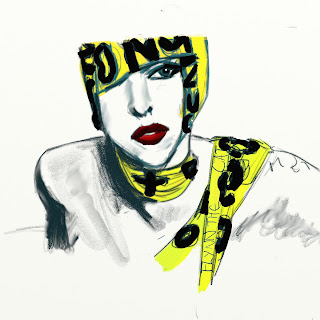 lady gaga artrage telephone stop yellow tape