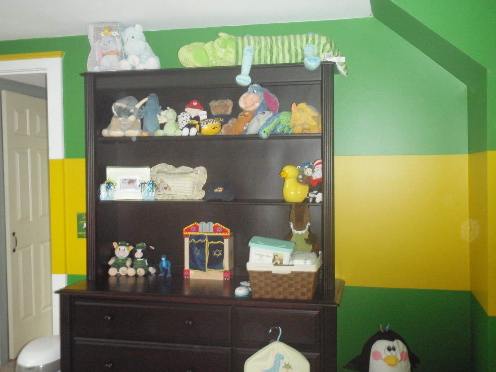 the gruendel family: my new john deere room