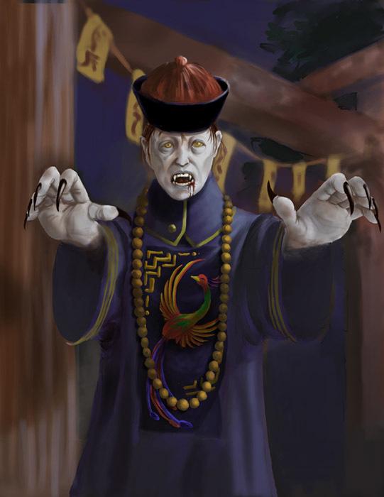 Takut Hantu atau Tuhan - Hantu Cina lompat-lompat