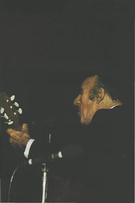 Edmundo Rivero en el viejo Almacen en 1978