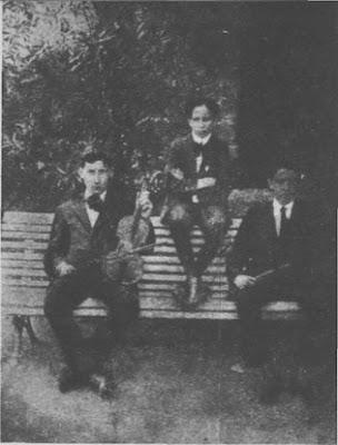 Juan D'Arienzo, Angel D'Agostino y Ernesto Bianchi