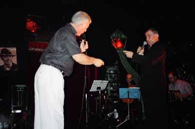Raul Mamone con Carlos Cavaleri