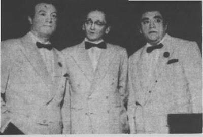 Jorge Maciel, Osvaldo Pugliese y Miguel Montero