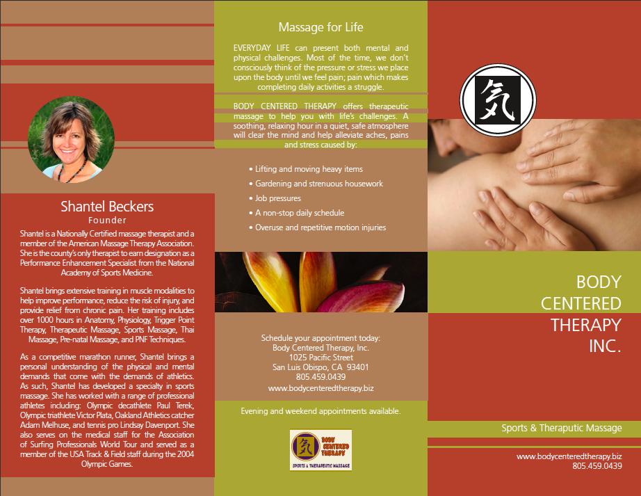 Doc600464 Massage Brochure Massage Brochure on Behance 88 – Massage Brochure
