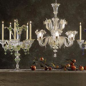 Copy Cat Chic Design Within Reach Murano Glass Chandelier