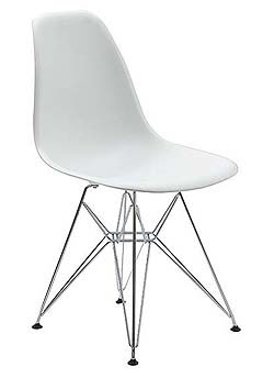 Copy cat chic eames molded plastic chairs - Eames eames stoel ...