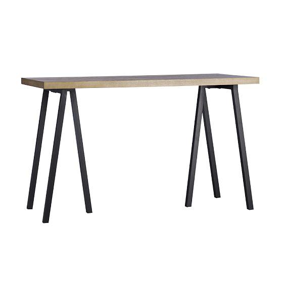 West Elm Triad Sawhorse Desk Copycatchic
