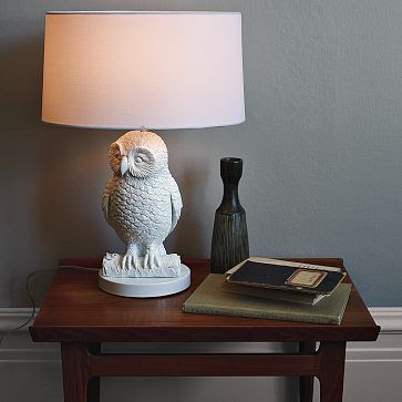 Copy Cat Chic Owl Lamps