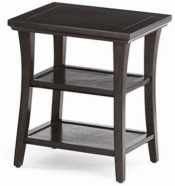 copy cat chic pottery barn metropolitan side table. Black Bedroom Furniture Sets. Home Design Ideas