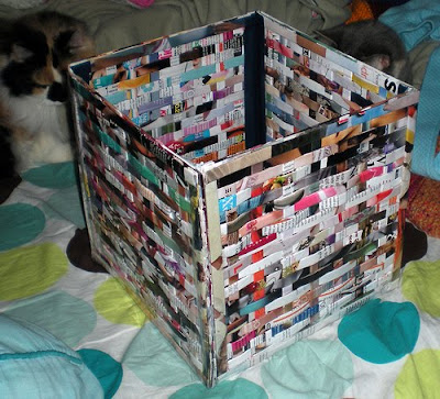 Recycling our planet creatively with art recycled for How to recycle old magazines