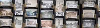 sena postales tipicas de Paris