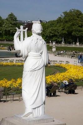 Jardines de Luxemburgo en Paris