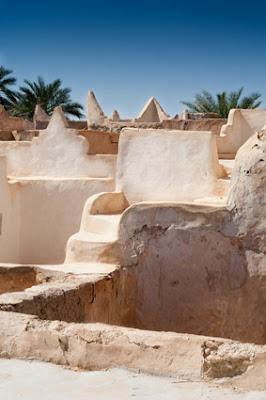 Ciudad de Ghadames en Libia