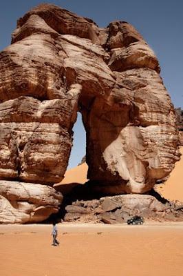 desiertos de Libia Arco de Fozzigiarein