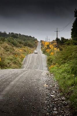 rumbo al sur por la carretera austral en chile