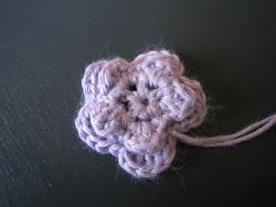 DIY- Hæklede blomst