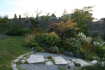 Upper garden in August