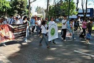 Marcha derechos de los animales