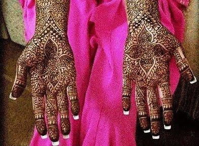 arabic hand mehendi patterns