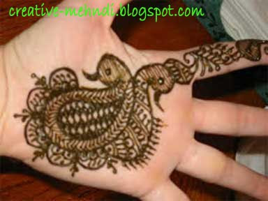 Indian Creative mehndi design