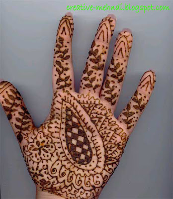 Creative Mehndi Design basic