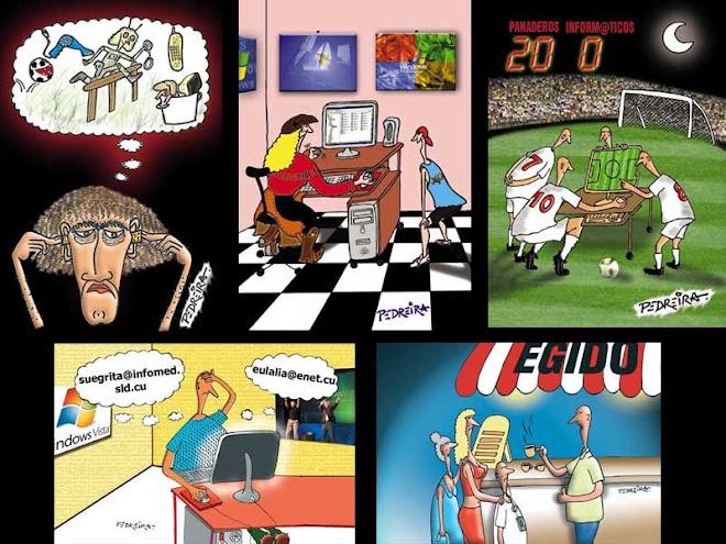 Ilustraciones para el periodico PuntoCU