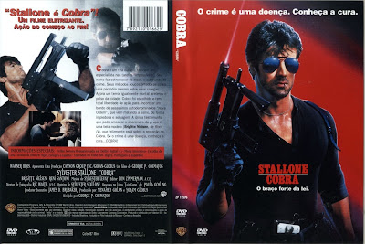Capa do Filme Stallone Cobra